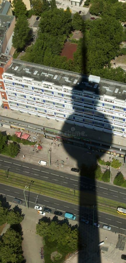 πύργος σκιών στοκ εικόνα