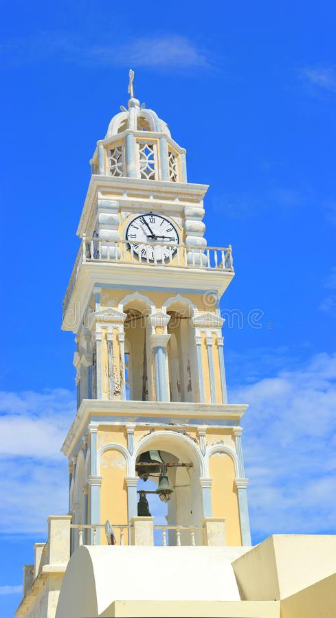 πύργος σπιτιών ρολογιών κουδουνιών στοκ εικόνες