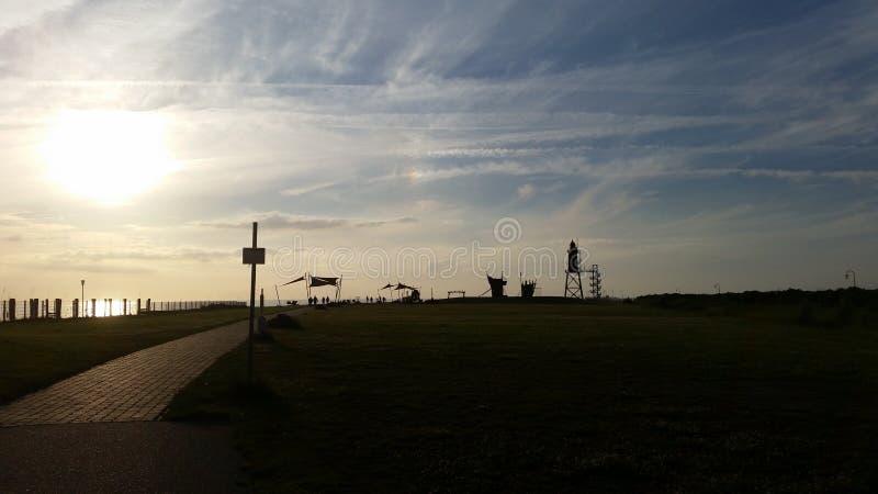 Πύργος στη Βόρεια Θάλασσα στοκ εικόνα με δικαίωμα ελεύθερης χρήσης