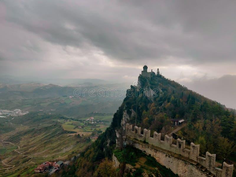 Πύργος στον Άγιο Μαρίνο στοκ φωτογραφία με δικαίωμα ελεύθερης χρήσης