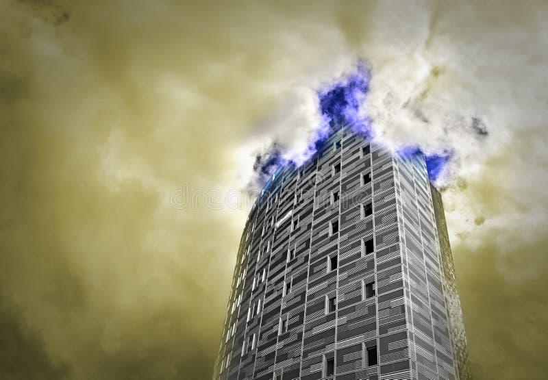 Πύργος στους ουρανούς στοκ εικόνες με δικαίωμα ελεύθερης χρήσης