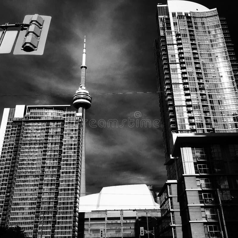 Πύργος στο κέντρο της πόλης Τορόντο ΣΟ στοκ εικόνα με δικαίωμα ελεύθερης χρήσης