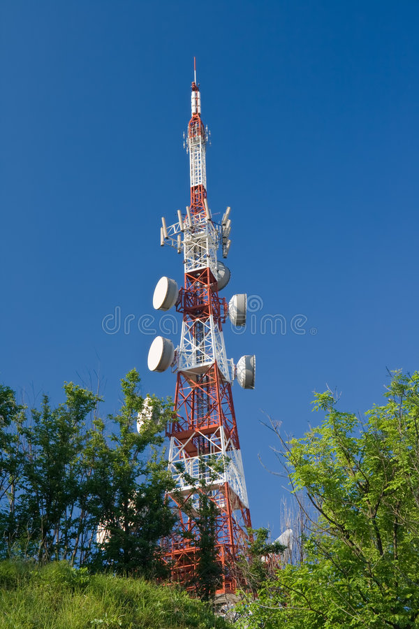 πύργος τηλεπικοινωνιών στοκ φωτογραφίες με δικαίωμα ελεύθερης χρήσης