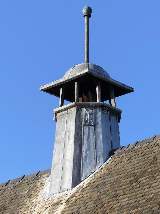 Πύργος της ελεύθερης εκκλησίας βαπτιστικής, δρόμος βουνοπλαγιών, Chorleyw στοκ φωτογραφία
