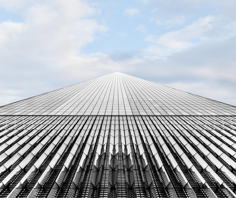 Πύργος της Ελευθερίας κέντρο ένα εμπορικός κόσμο&si στοκ φωτογραφία
