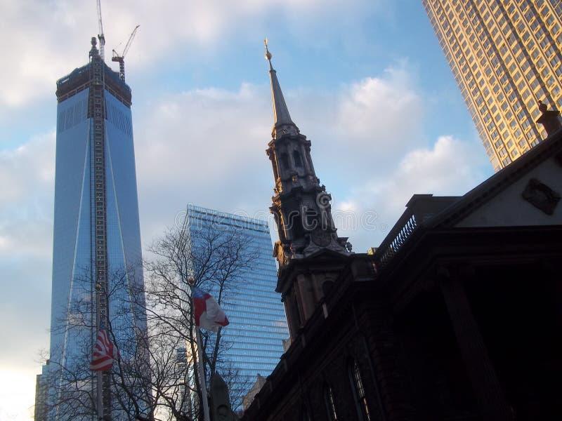 Πύργος της Ελευθερίας και άλλα στο κέντρο της πόλης κτήρια στοκ φωτογραφίες