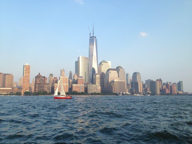 Πύργος της Ελευθερίας NYC στοκ εικόνα με δικαίωμα ελεύθερης χρήσης