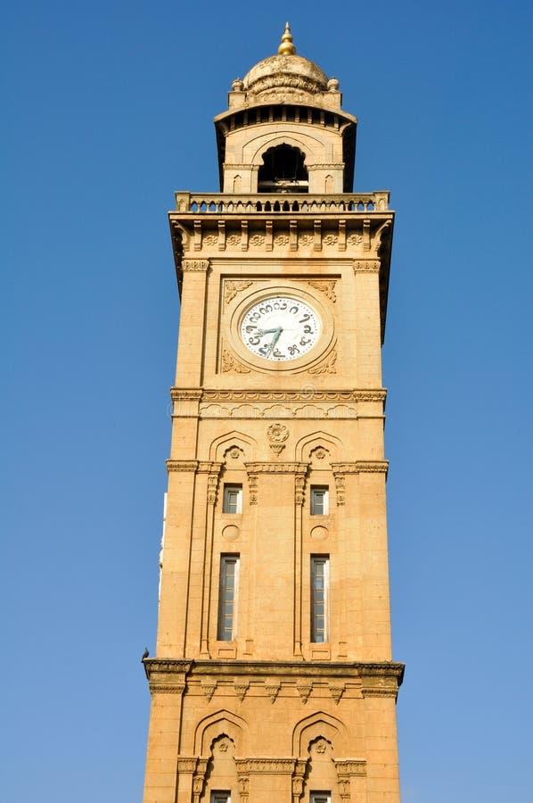 πύργος της Ινδίας Mysore ρολογιών στοκ εικόνα