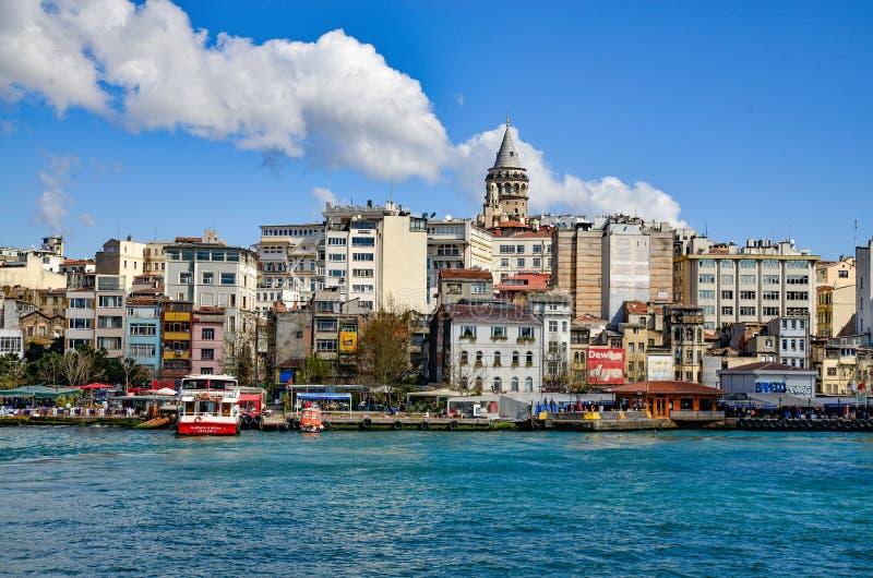 Πύργος της Κωνσταντινούπολης Galata στοκ φωτογραφίες