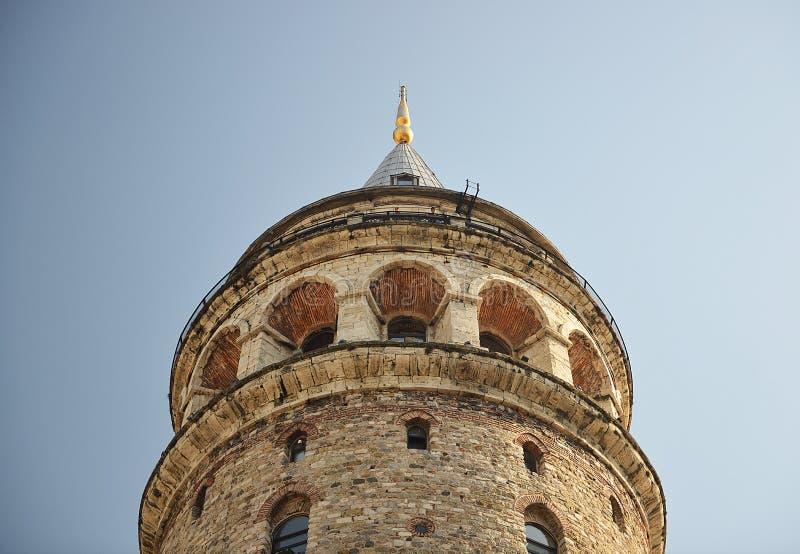 πύργος της Κωνσταντινούπολης galata στοκ εικόνα με δικαίωμα ελεύθερης χρήσης
