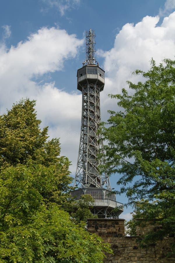πύργος της Πράγας petrin στοκ φωτογραφίες με δικαίωμα ελεύθερης χρήσης
