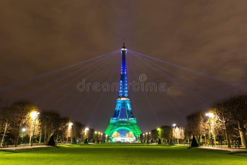 πύργος του Άιφελ λάμπει Πύργος του Άιφελ νύχτας Παρίσι night paris στοκ φωτογραφίες με δικαίωμα ελεύθερης χρήσης
