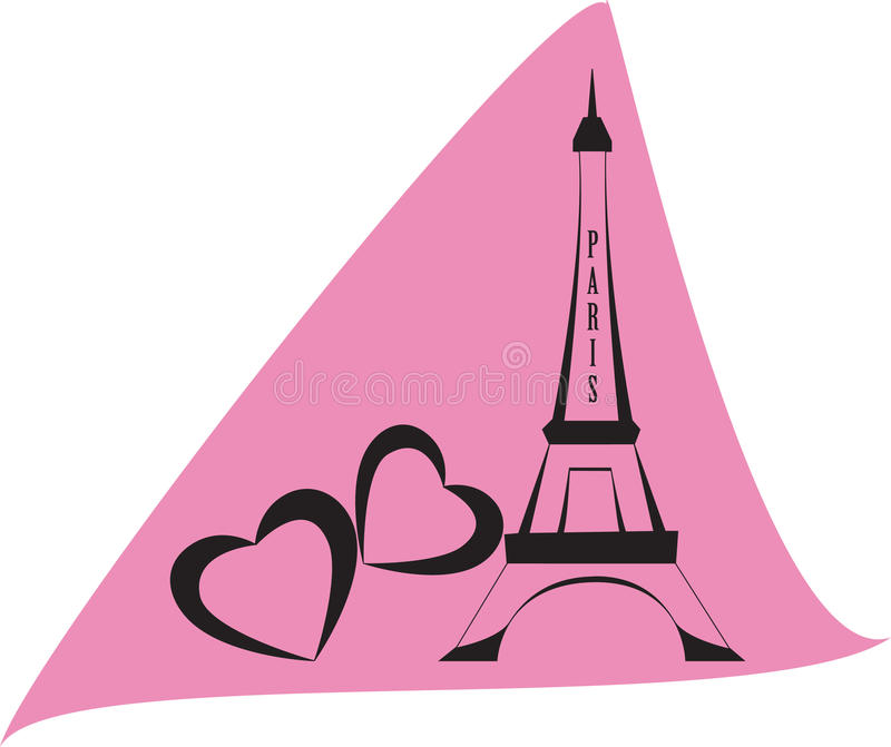 πύργος του Άιφελ διανυσματική απεικόνιση