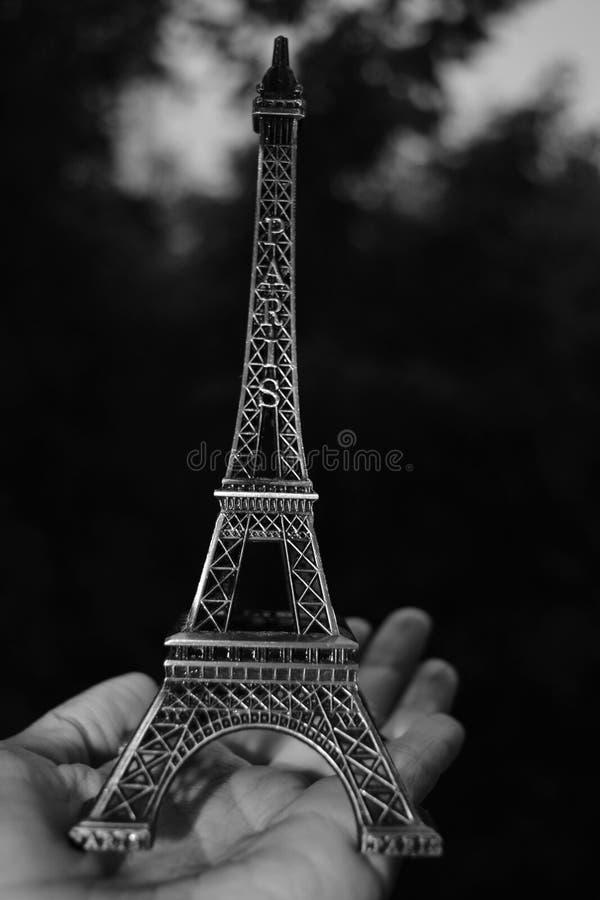 Πύργος του Άιφελ διακοσμητικός στο φοίνικα στοκ φωτογραφία