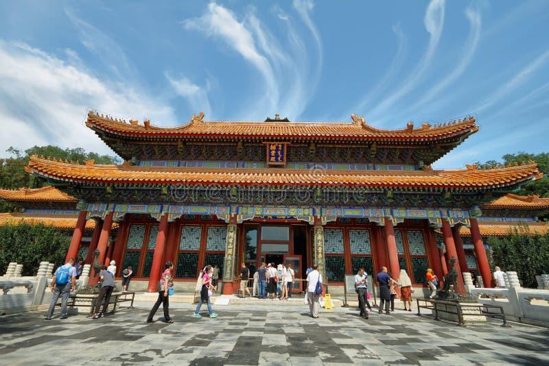 Πύργος του βουδιστικού θυμιάματος στο θερινό παλάτι στοκ εικόνα