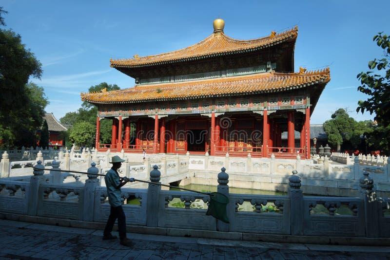 Πύργος του βουδιστικού θυμιάματος στο θερινό παλάτι στοκ εικόνα με δικαίωμα ελεύθερης χρήσης