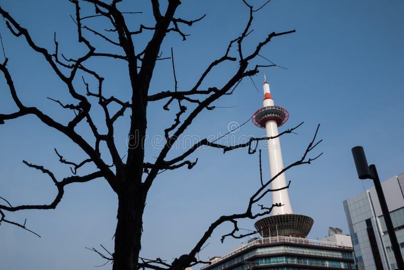 Πύργος του Κιότο, Κιότο, Ιαπωνία στοκ φωτογραφίες με δικαίωμα ελεύθερης χρήσης