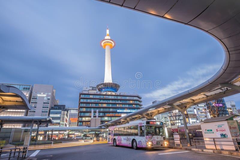 Πύργος του Κιότο στοκ φωτογραφίες με δικαίωμα ελεύθερης χρήσης