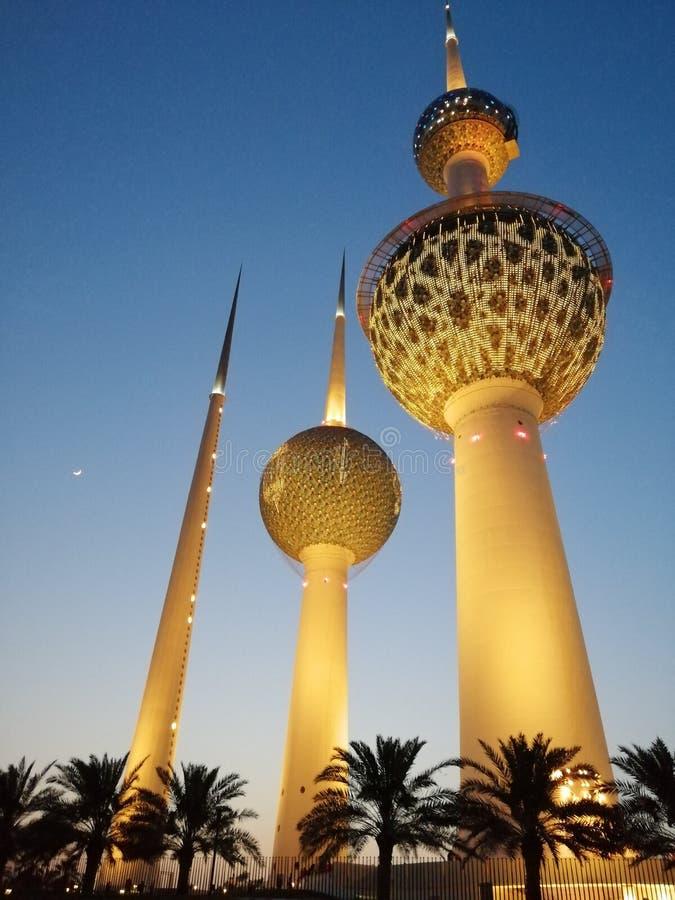 Πύργος του Κουβέιτ στοκ φωτογραφίες