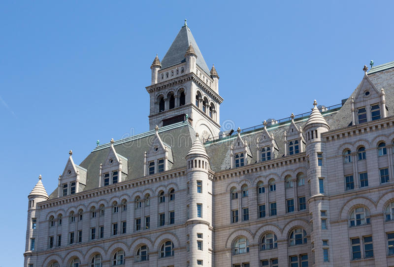 Πύργος του παλαιού ταχυδρομείου που χτίζει την Ουάσιγκτον στοκ εικόνες