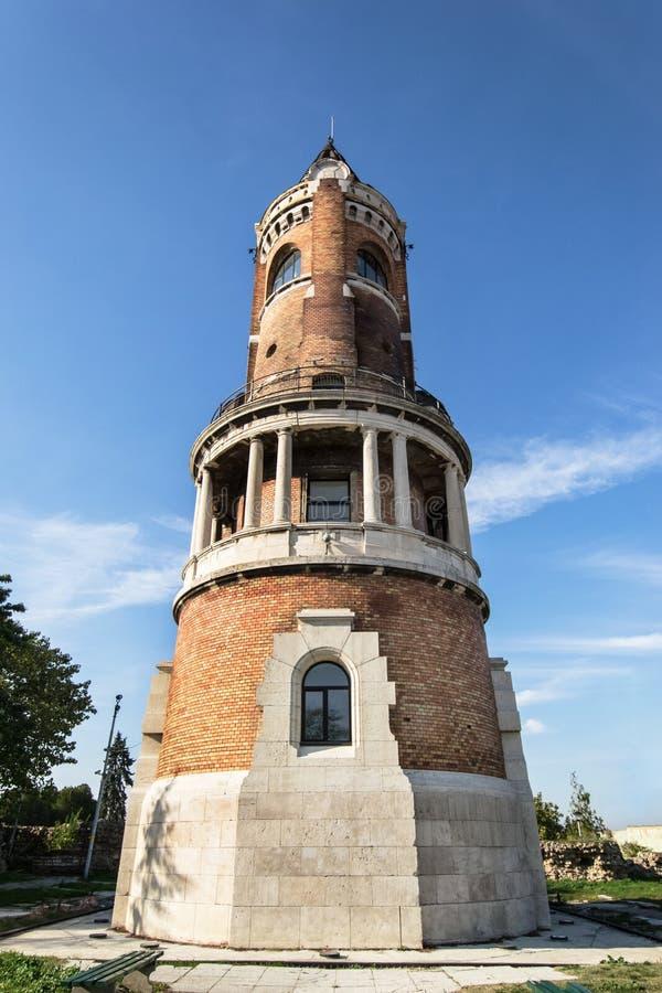 Πύργος του πύργου Zemun, Βελιγράδι, Σερβία χιλιετίας πύργων Sibinjanin Janko Gardos στοκ φωτογραφίες