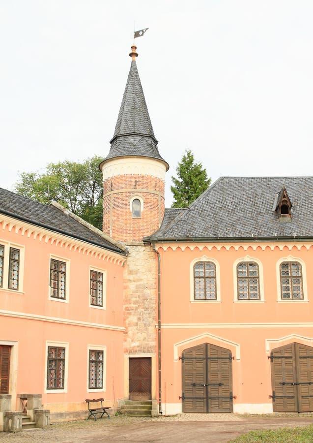 Πύργος του Castle Sychrov στοκ φωτογραφία με δικαίωμα ελεύθερης χρήσης