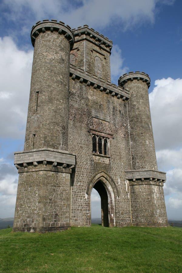 Πύργος του Paxton ` s στη δυτική Ουαλία Carmarthenshire στοκ φωτογραφίες με δικαίωμα ελεύθερης χρήσης