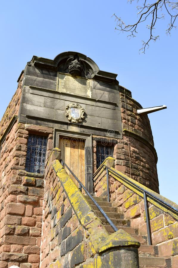 Πύργος του Phoenix τοίχων πόλεων του Τσέστερ στοκ εικόνες