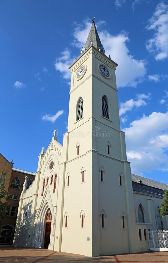 Πύργος του SAN Αυγουστίνος de Λαρέντο στοκ φωτογραφία
