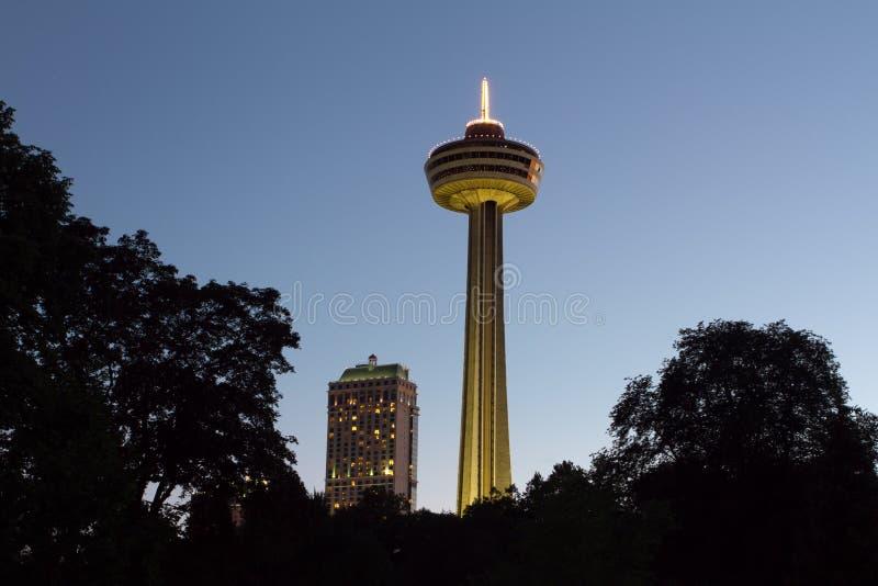 πύργος χαρτοπαικτικών λεσχών fallsview skylon στοκ φωτογραφία με δικαίωμα ελεύθερης χρήσης