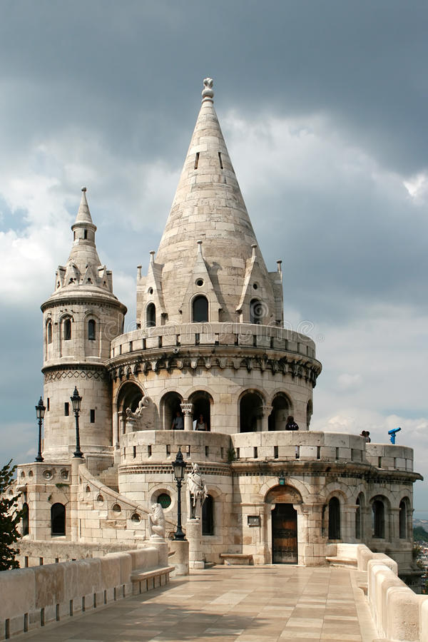 πύργος ψαράδων προμαχώνων στοκ εικόνες με δικαίωμα ελεύθερης χρήσης