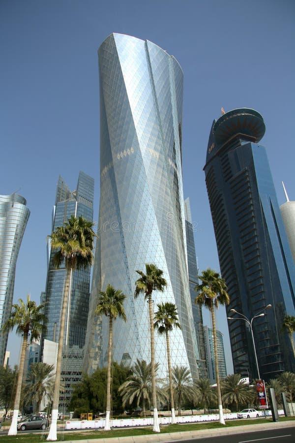 Πύργος Al Bidda σε Doha, Κατάρ στοκ εικόνες με δικαίωμα ελεύθερης χρήσης