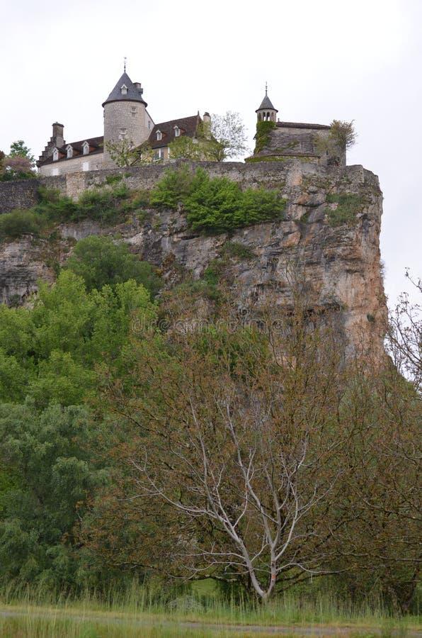 Πύργος Belcastel του μέρους στοκ φωτογραφία με δικαίωμα ελεύθερης χρήσης