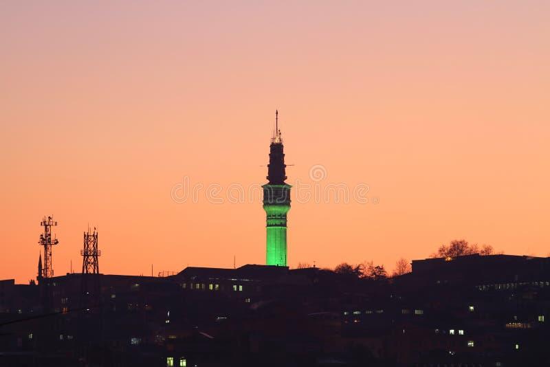 Πύργος Beyazit στοκ εικόνες