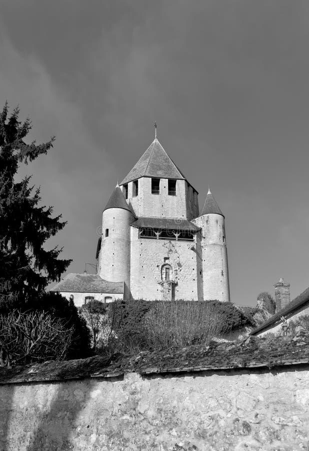 Πύργος Caesar (ΧΙΙ γ ) από Provins Γαλλία Περιοχή της ΟΥΝΕΣΚΟ στοκ φωτογραφία με δικαίωμα ελεύθερης χρήσης