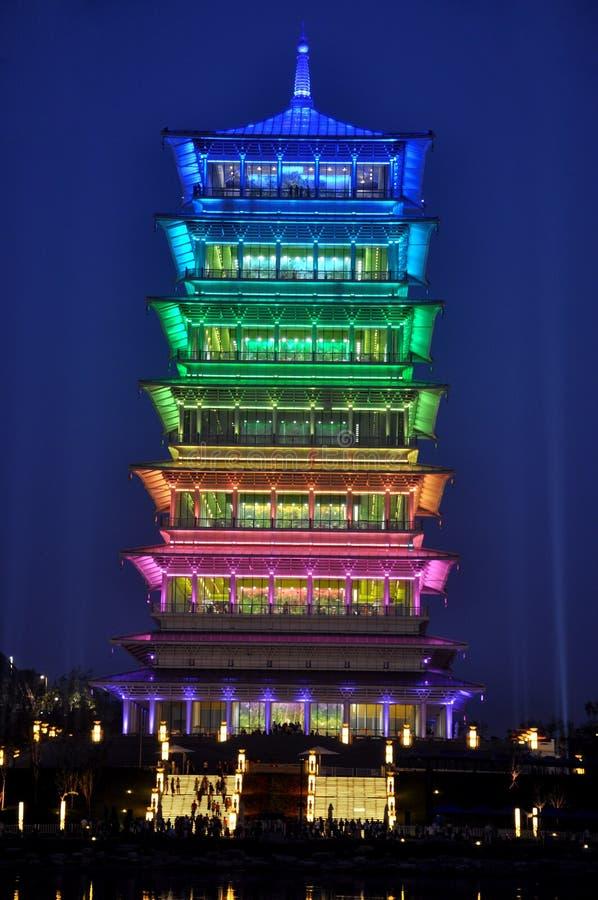Πύργος Chang'an στοκ φωτογραφία με δικαίωμα ελεύθερης χρήσης