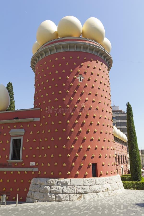 Πύργος Galatea. Μουσείο του Δαλιού. Ισπανία στοκ εικόνα με δικαίωμα ελεύθερης χρήσης