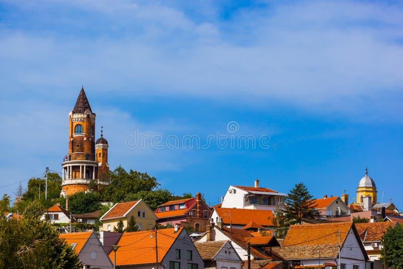 Πύργος Gardos σε Zemun - Βελιγράδι Σερβία στοκ εικόνες