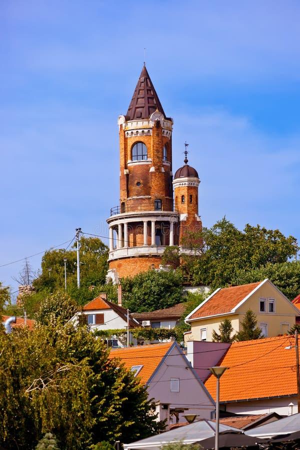 Πύργος Gardos σε Zemun - Βελιγράδι Σερβία στοκ εικόνα με δικαίωμα ελεύθερης χρήσης