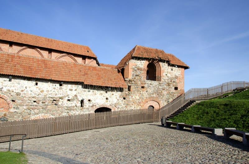 Πύργος Gediminas Gedimino σε Vilnius, Λιθουανία Ιστορικό σύμβολο της πόλης Vilnius και της Λιθουανίας η ίδια Ανώτερο Vilnius στοκ εικόνα
