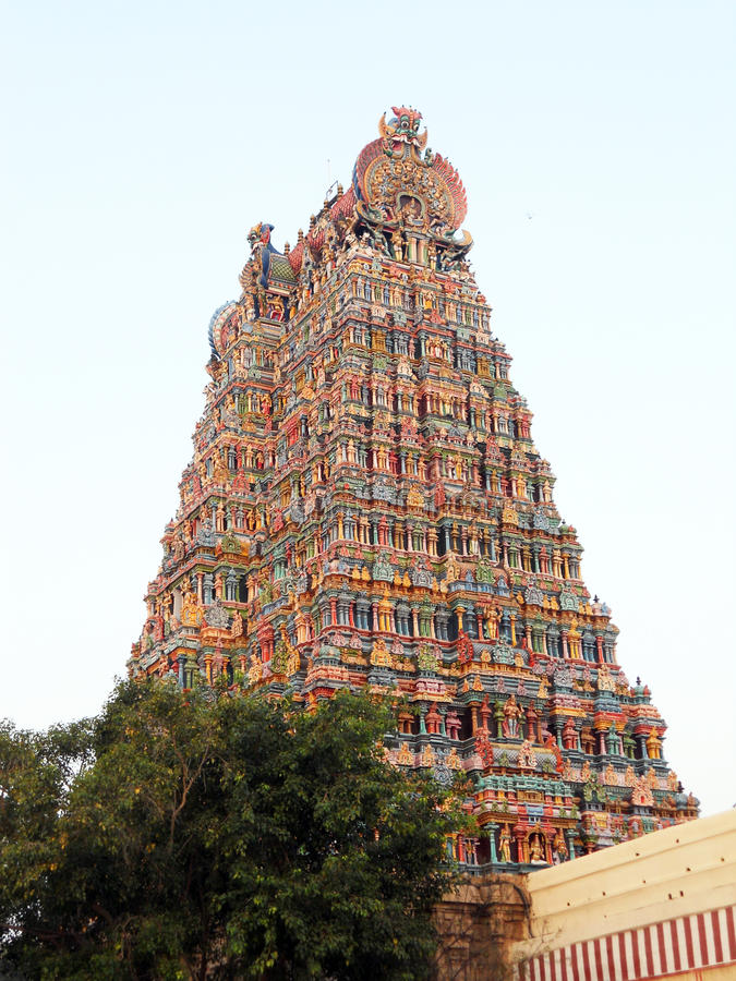 πύργος hindus στοκ εικόνες