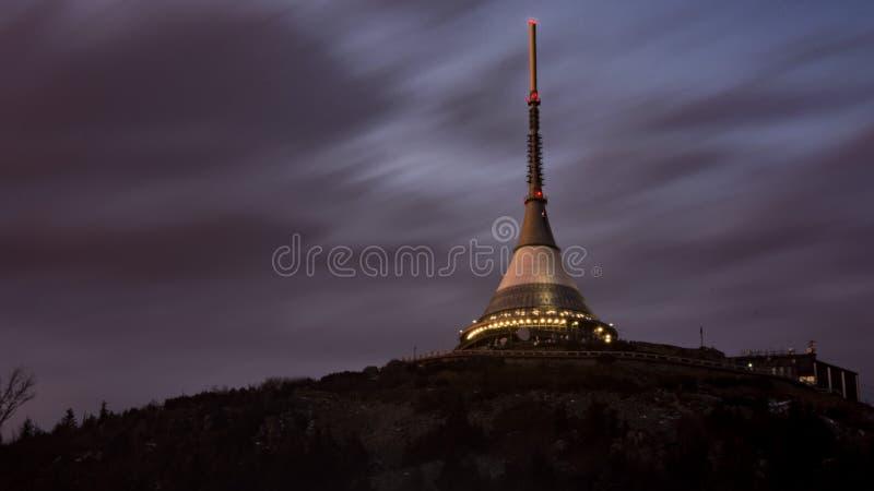 Πύργος Jested στοκ εικόνες