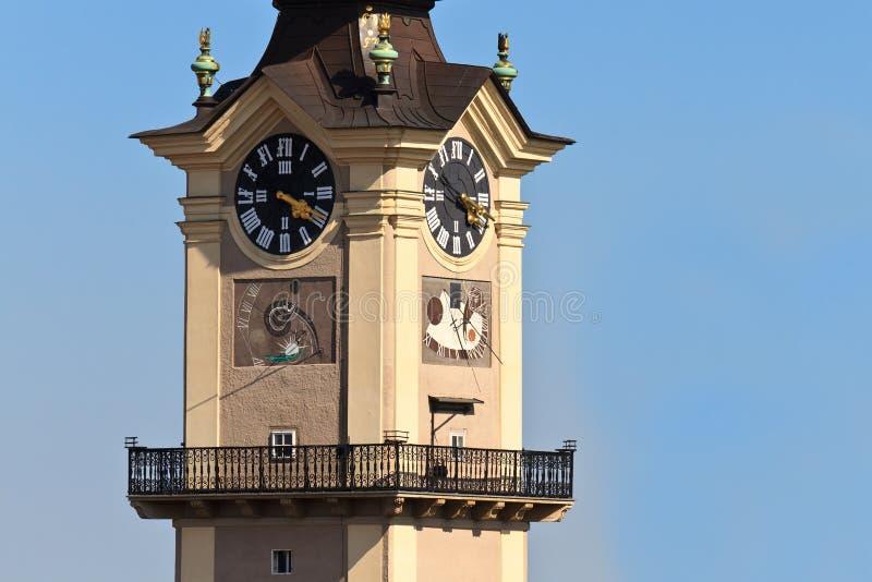 πύργος landhaus linz στοκ φωτογραφία