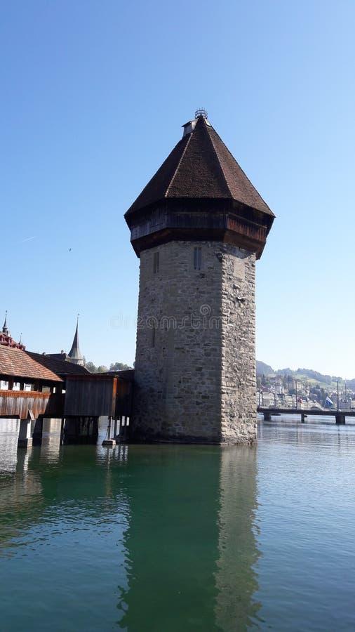 Πύργος luzern στοκ εικόνες με δικαίωμα ελεύθερης χρήσης