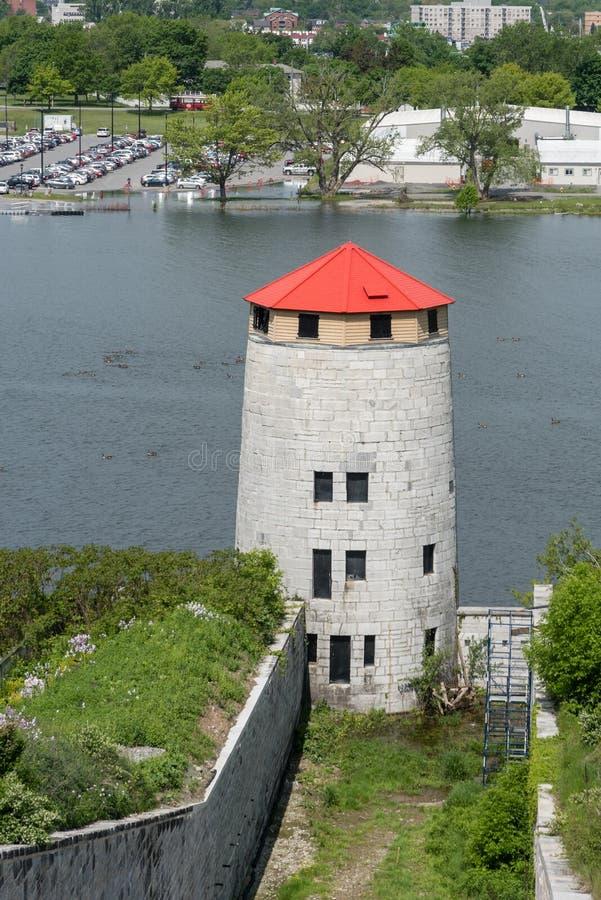 Πύργος Martello στο οχυρό Henry στοκ φωτογραφία με δικαίωμα ελεύθερης χρήσης