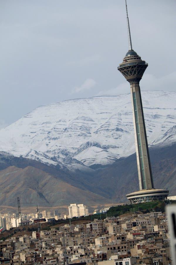Πύργος Milad στοκ φωτογραφία με δικαίωμα ελεύθερης χρήσης