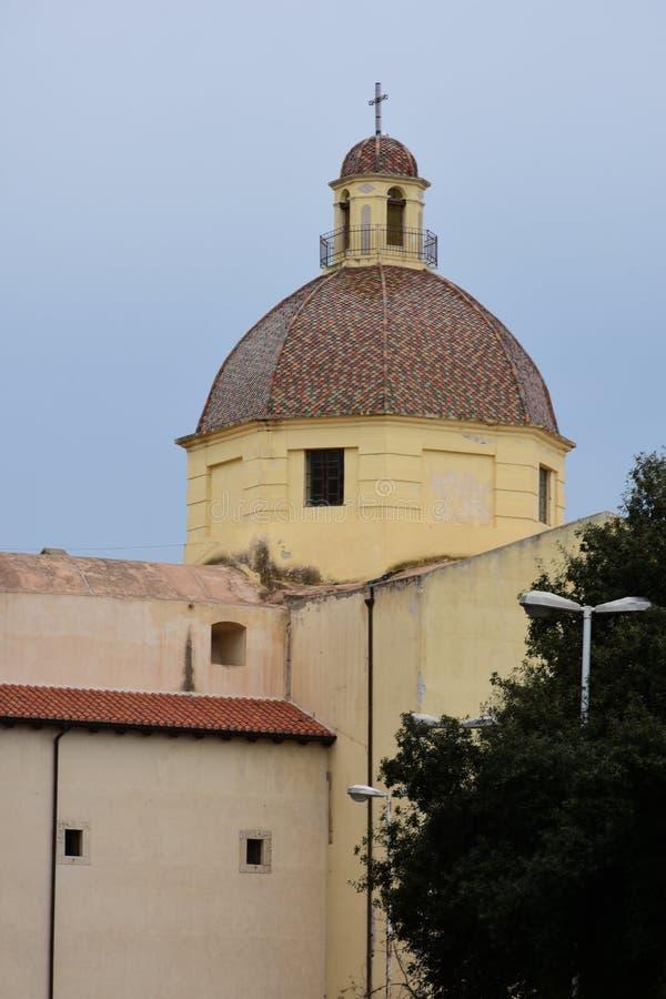 Πύργος Necropolis Di Viale Bonario, Κάλιαρι, Σαρδηνία, Ιταλία στοκ φωτογραφίες με δικαίωμα ελεύθερης χρήσης