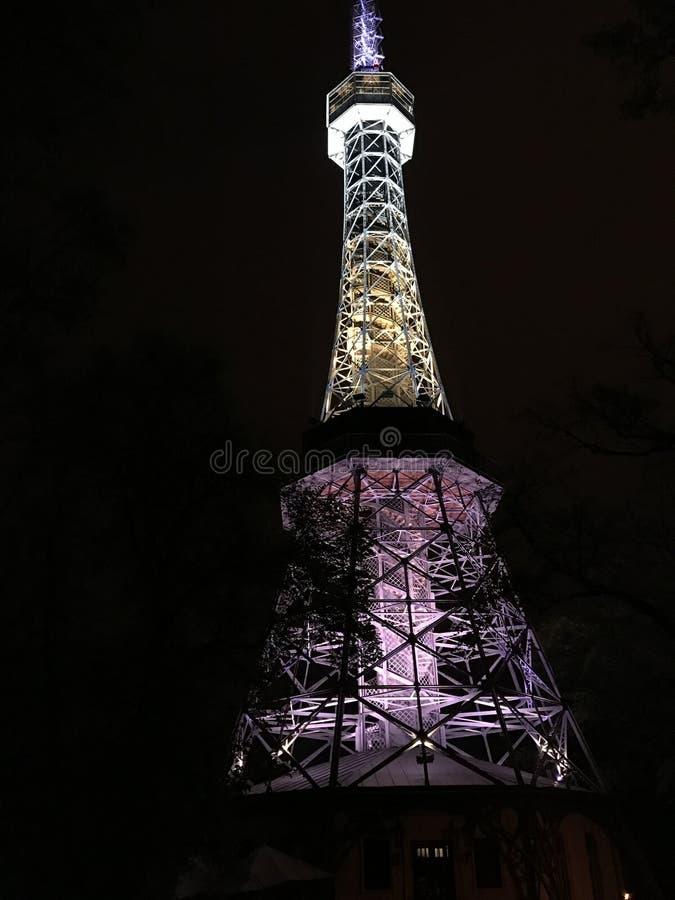 Πύργος Petrin, Πράγα στοκ εικόνες