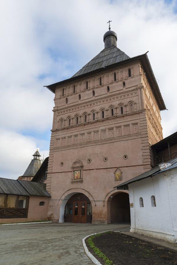 Download Πύργος Proezdnaya στο μοναστήρι του ST Euthymius Στοκ Εικόνα - εικόνα από τουρισμός, είσοδος: 62723847