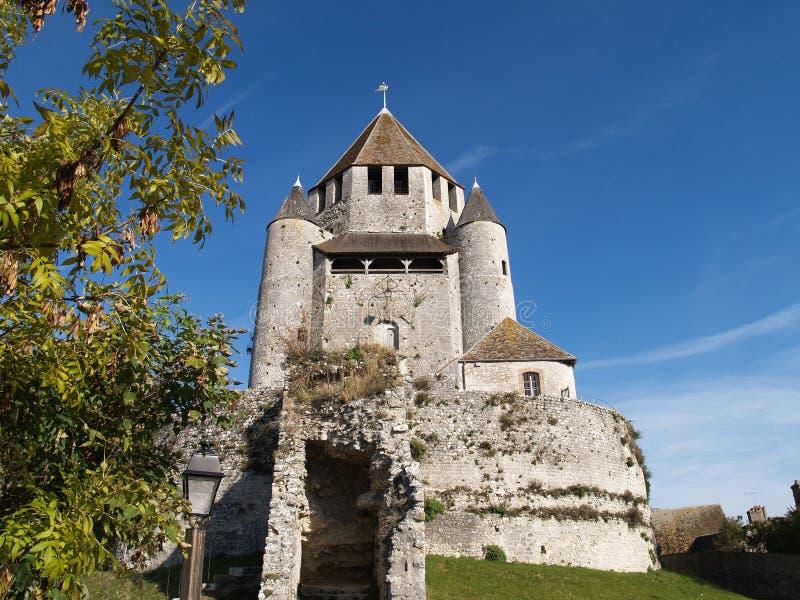 Πύργος Provins Caesar στοκ φωτογραφία με δικαίωμα ελεύθερης χρήσης